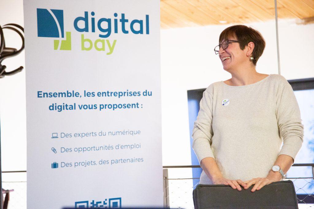 Roll-up de digital bat par l'agence de communication PLUSCOM à La Rochelle