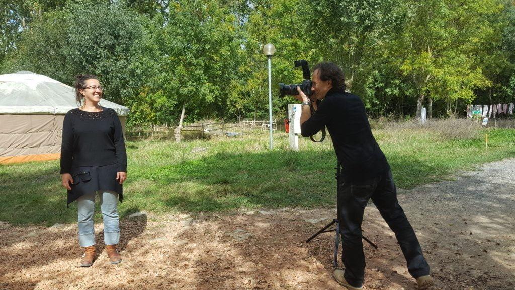 Shooting photo à la rochelle par l'agence de communication PLUSCOM et son photographe Antoine Després.