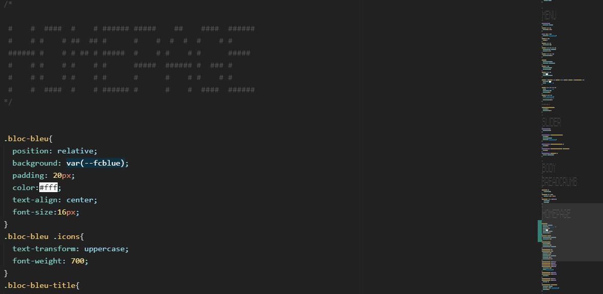 Capture code source CSS