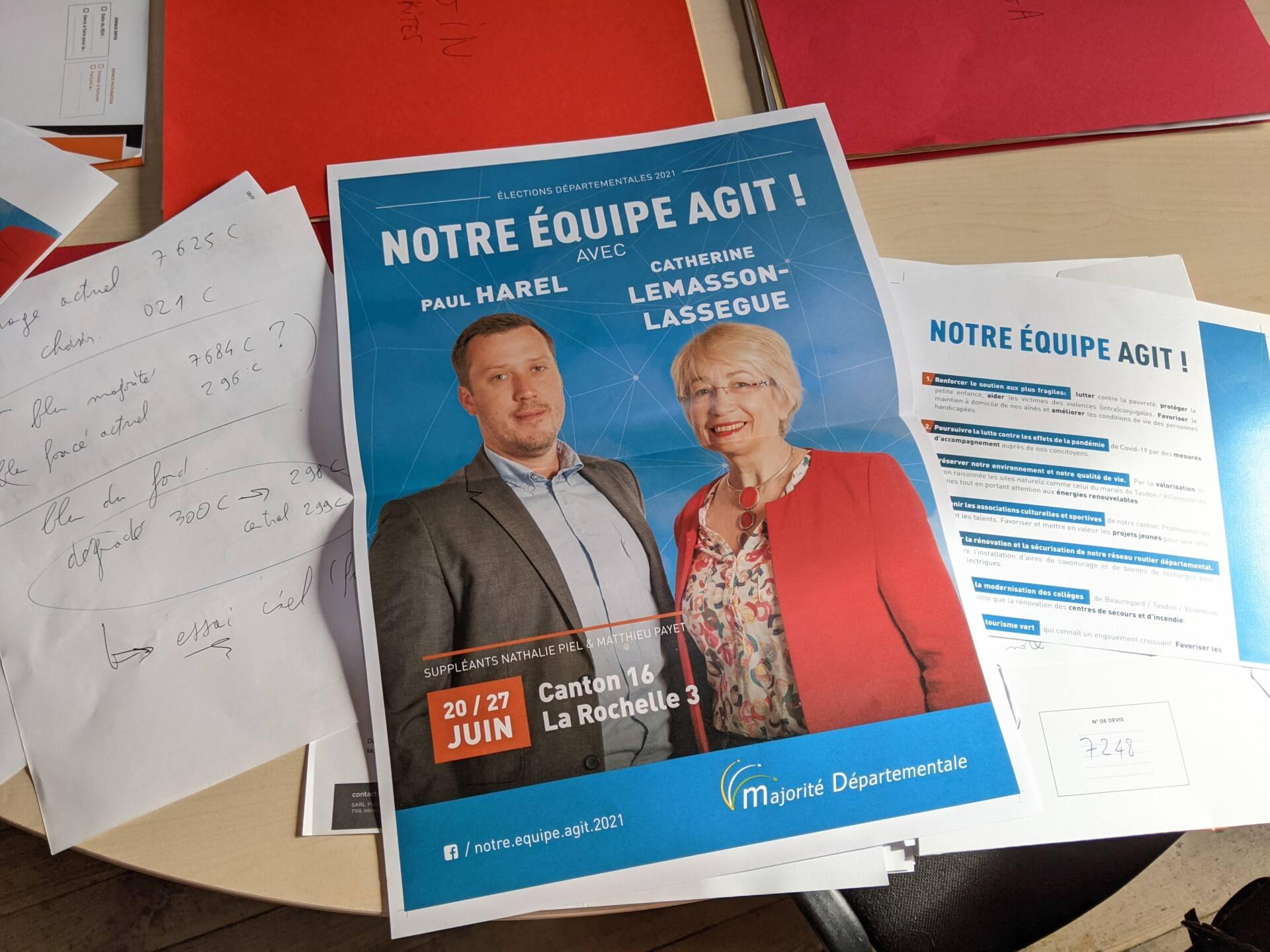 Campagne électorale La Rochelle 3