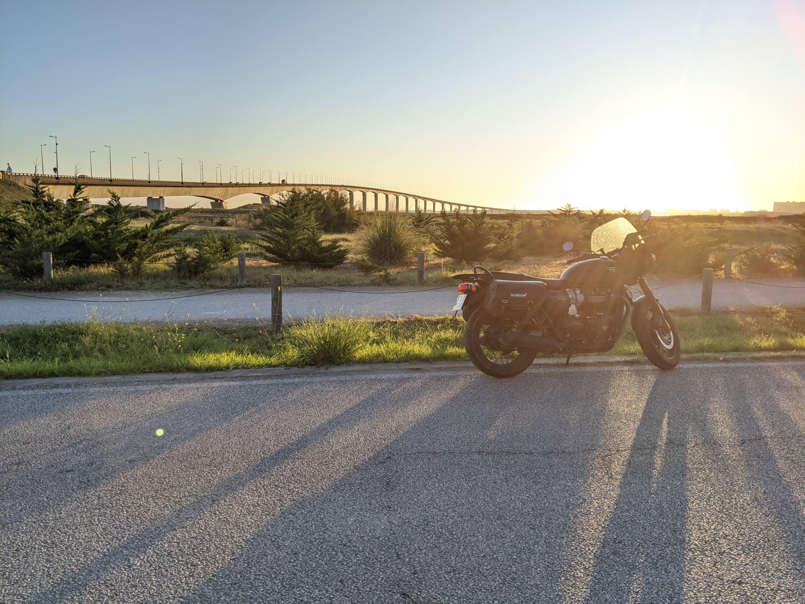 photo de bon matin sur l'ile de ré