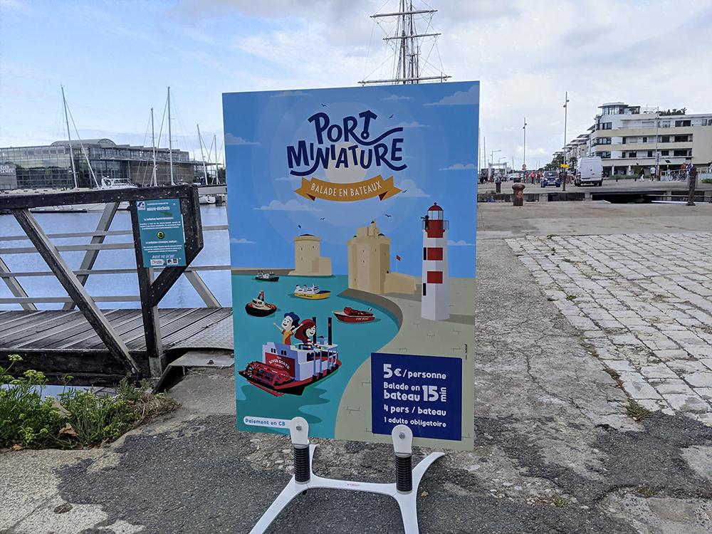 Visuel agence de publicité La Rochelle