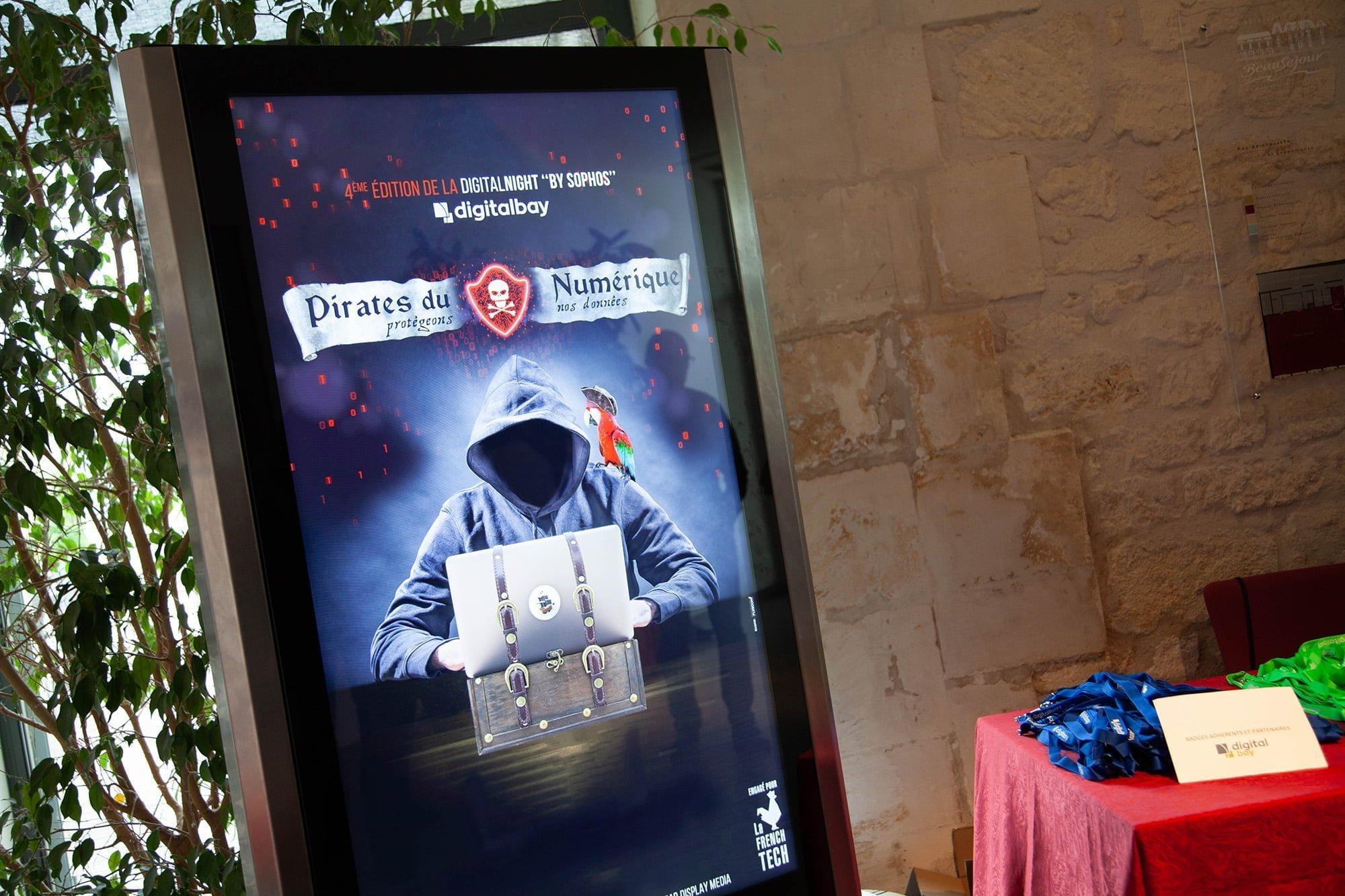 publicité évennement Digital Bay La Rochelle