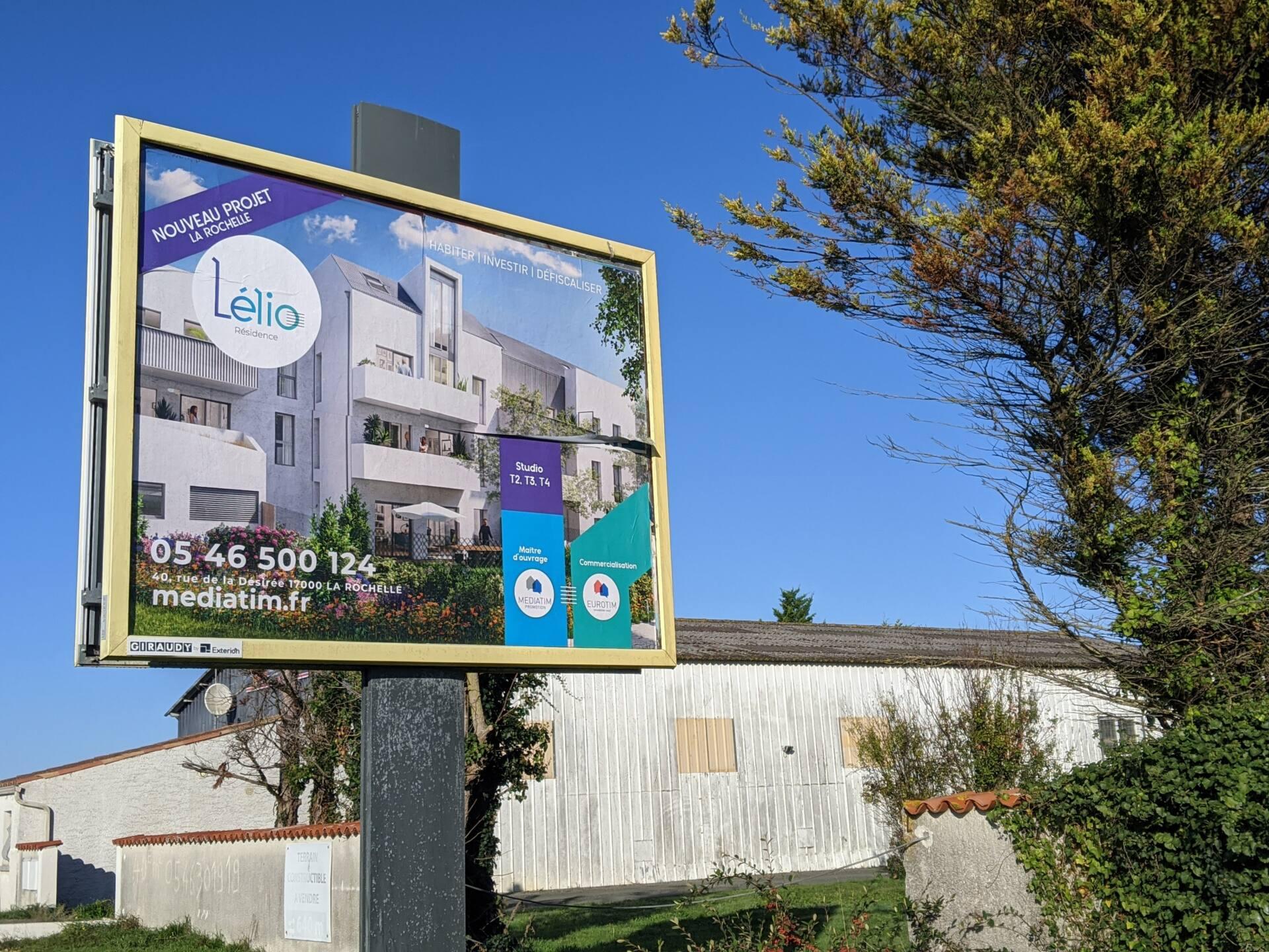 campagne agence de publicité affichage 4x3 La Rochelle